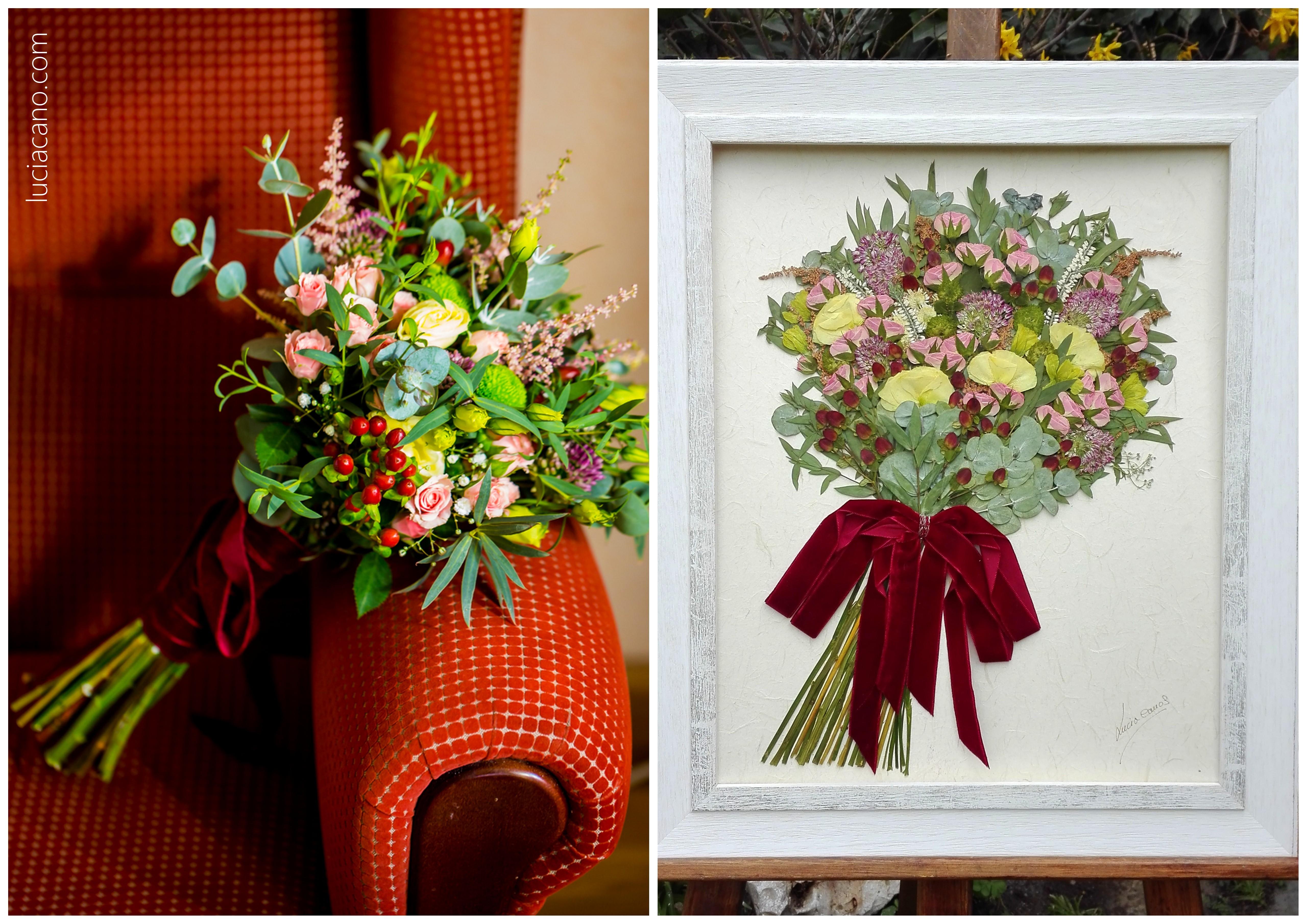 conservar ramo novia flores naturales flores para siempre lucia cano