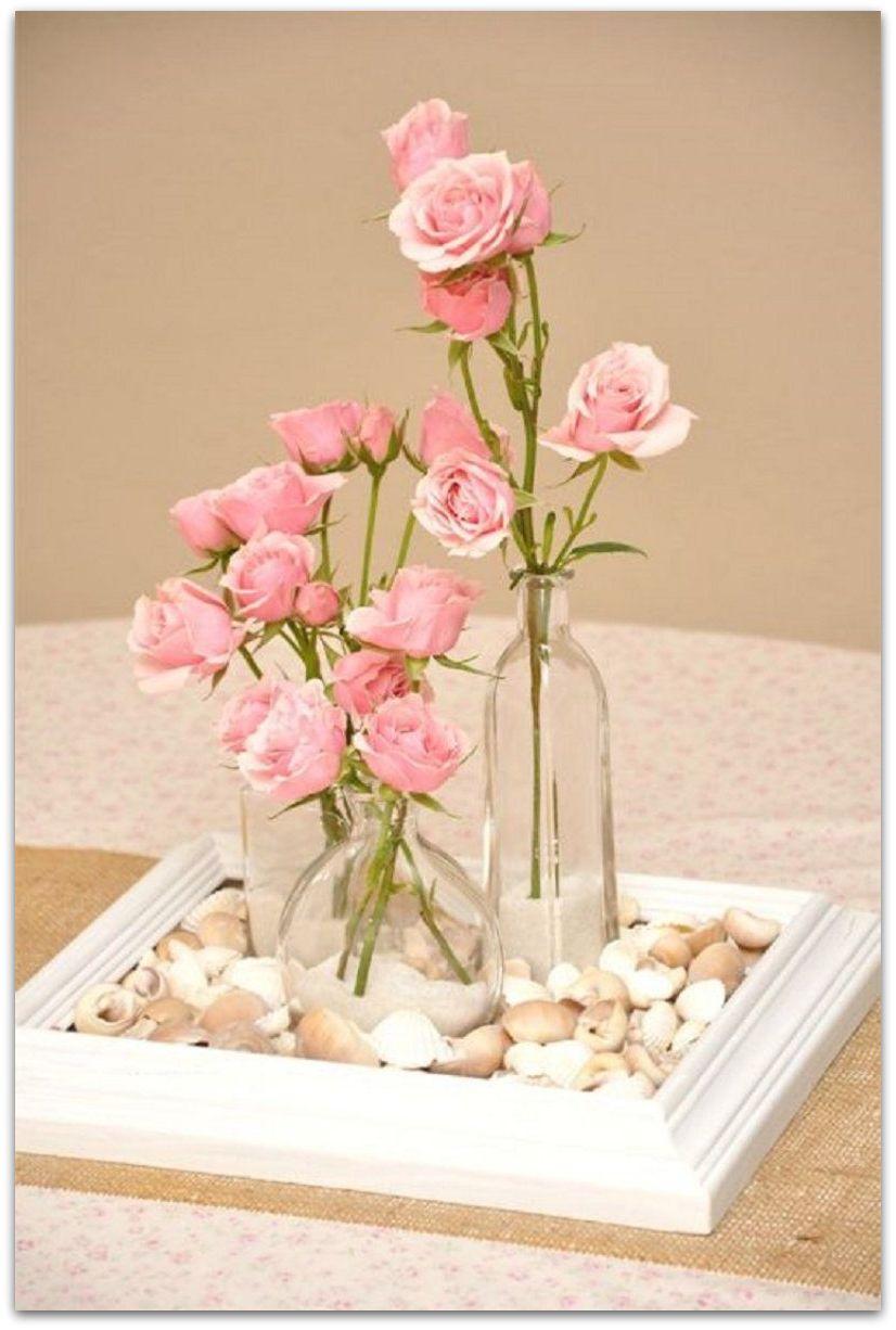 Como Hacer Centros De Flores Gallery Of Centros De Mesa Para  ~ Centros De Flores Naturales Para Mesas