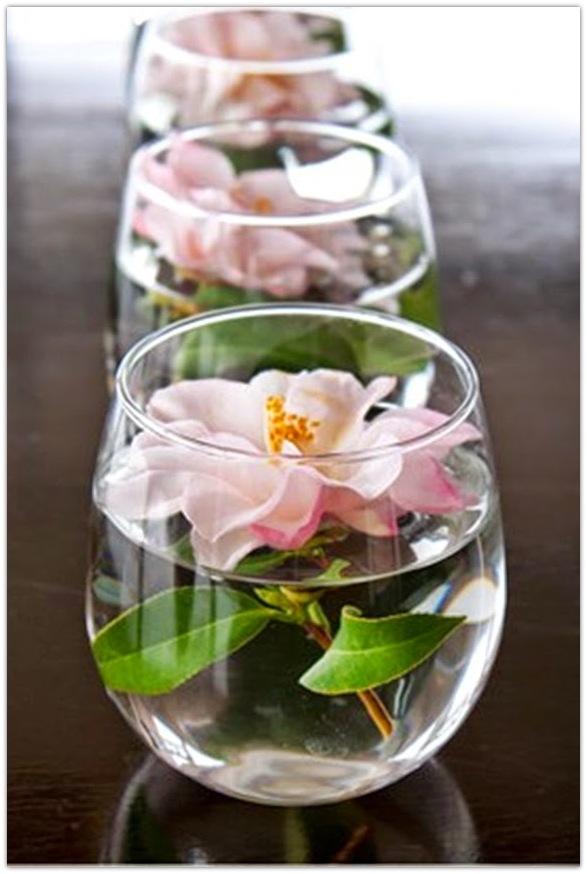 Como hacer centro mesa flores naturales primavera facil 7 for Centros de mesa con plantas naturales
