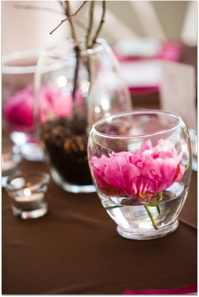 como hacer centro mesa flores naturales primavera facil 8